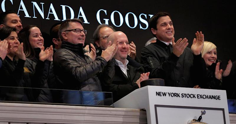 Here's how Canada Goose's first day of trading compares to Snap's, other 2017 IPOs
