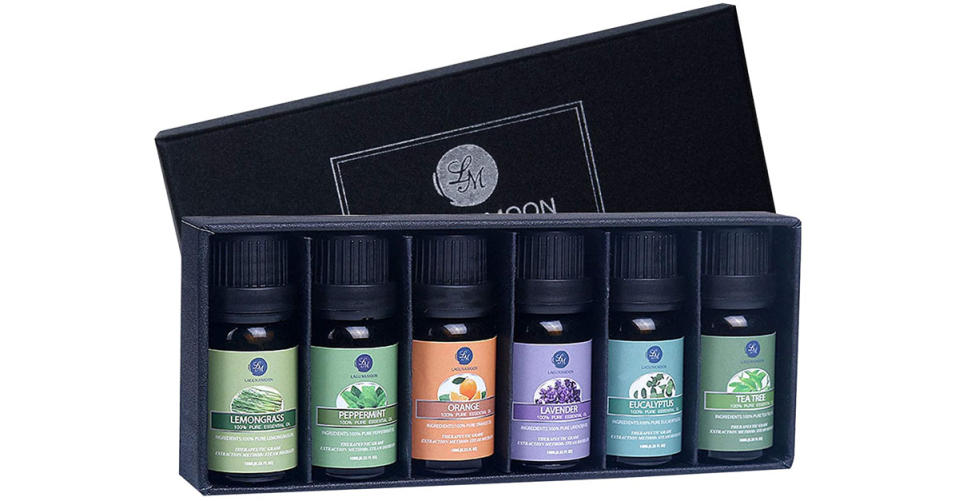 Lagunamoon Essential Oils Top 6 Gift Set (Photo: Amazon)