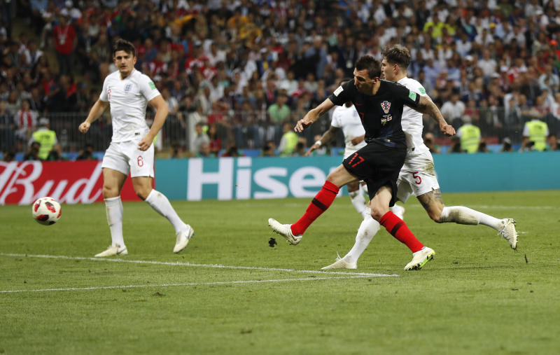 Croatia punches World Cup final ticket in thriller