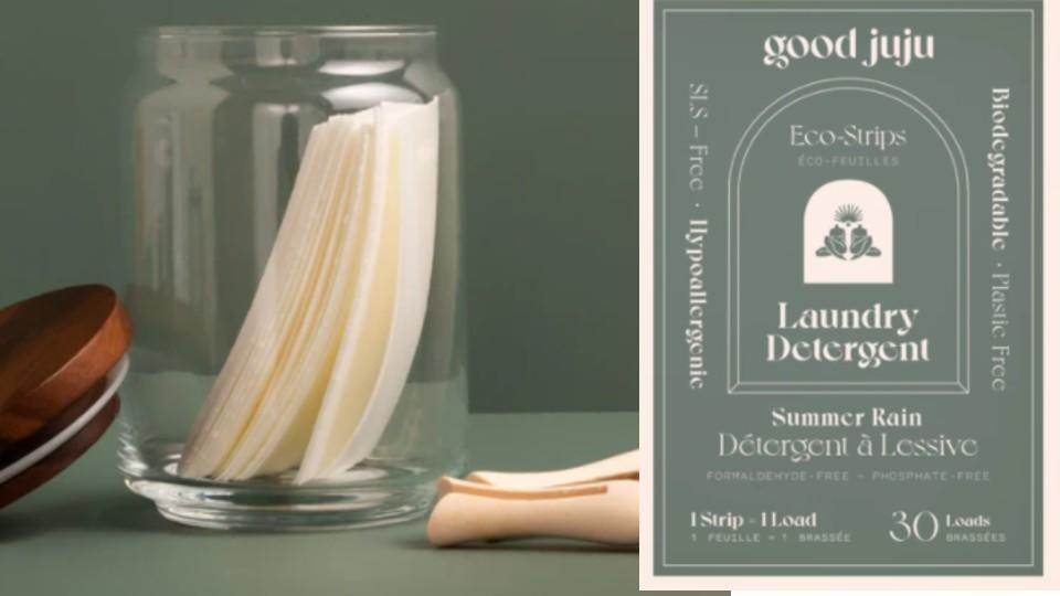 Laundry Detergent Eco-Strips - Goodjuju, $15