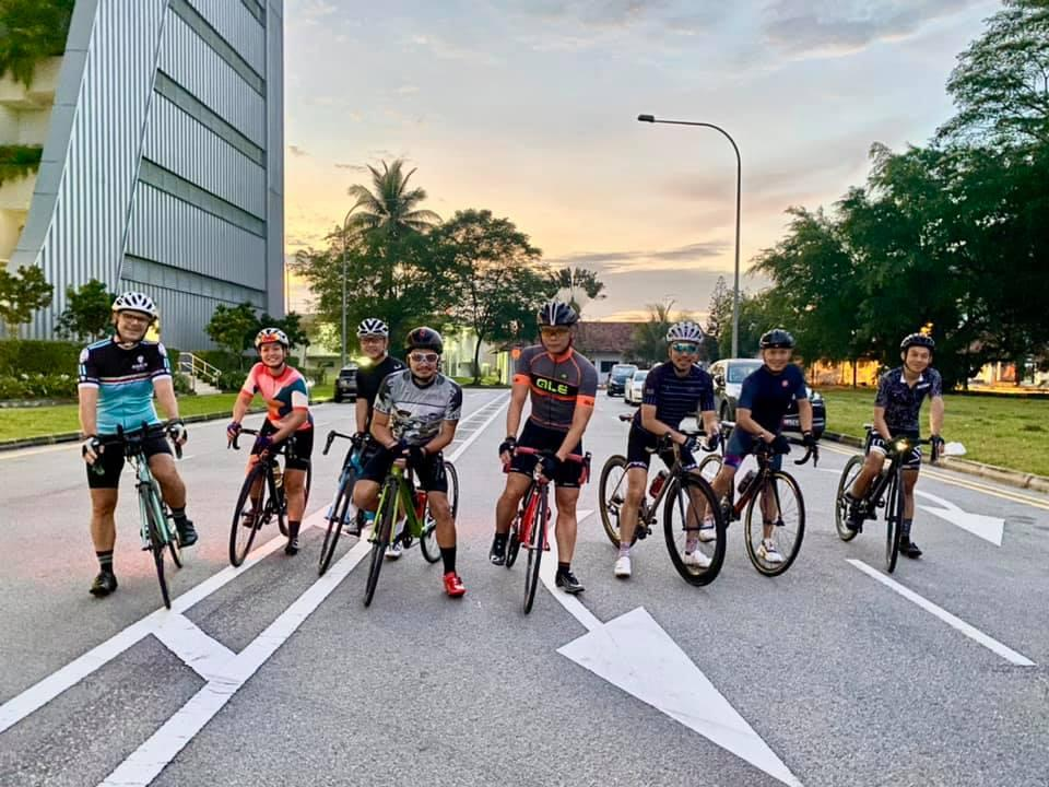 Cyclists from the Break The Cycle initiative. (PHOTO: Facebook/Break The Cycle SG)