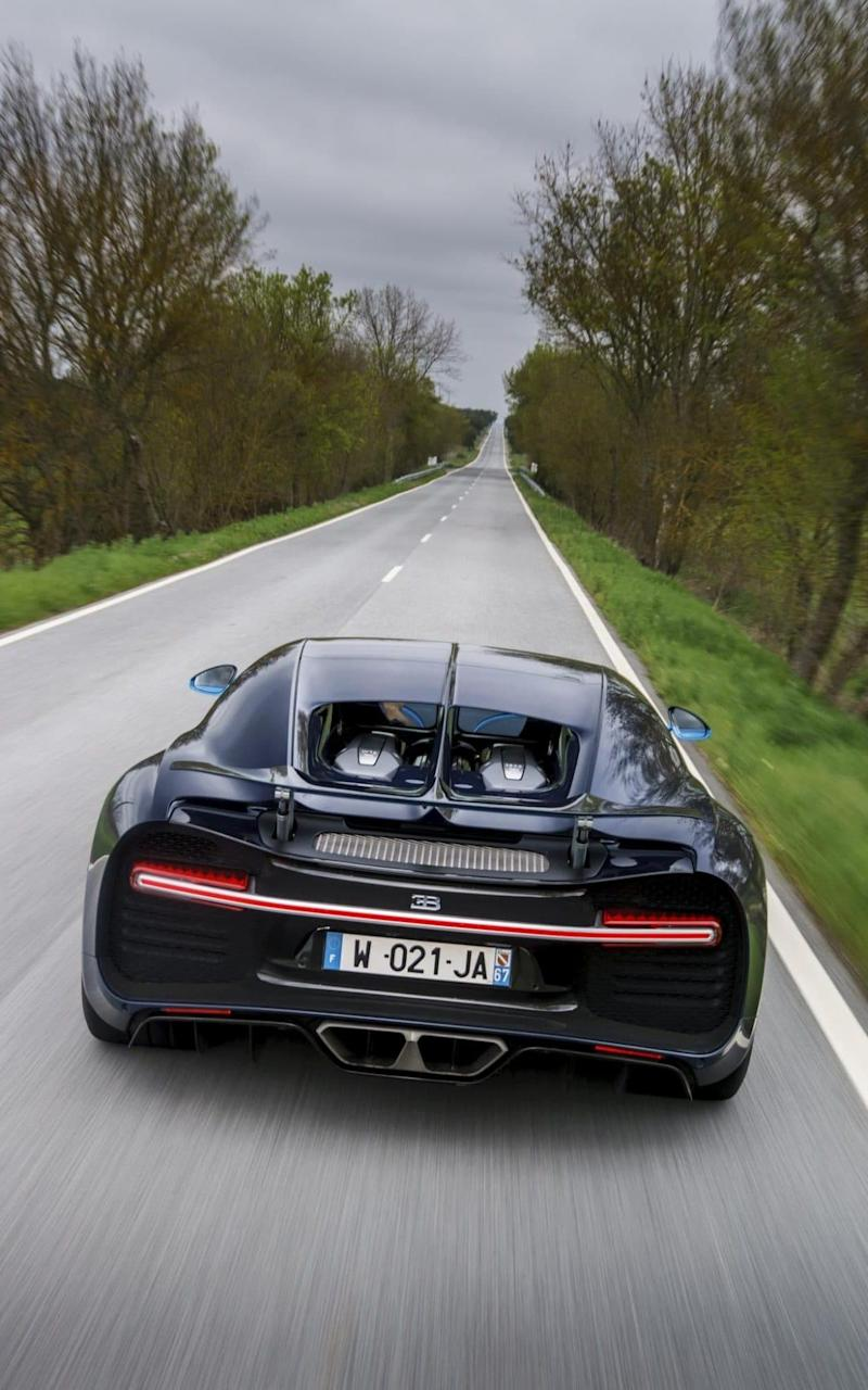 Bugatti Chiron review - Credit: Dominic Fraser