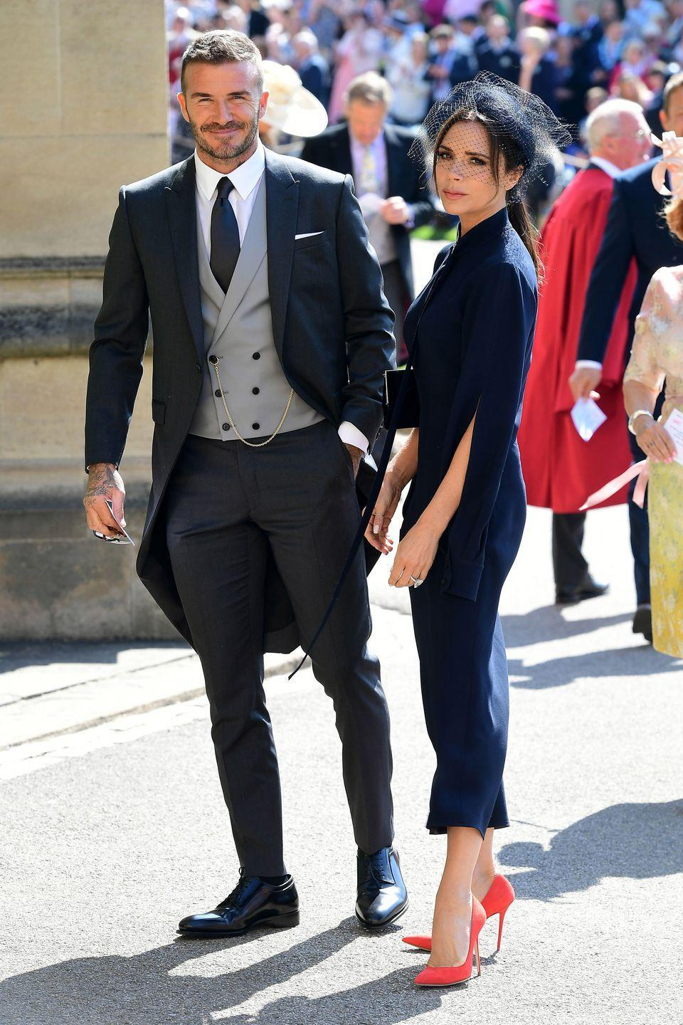"""<p>Posh and Becks sued <em>News of the World</em> for printing a story which alleged David had been cheating on his wife in 2004. The two also sued a nanny who claimed she had an affair with David, according to <a href=""""https://www.eonline.com/news/913303/how-david-and-victoria-beckham-s-marriage-survived-and-thrived-after-scandal"""" rel=""""nofollow noopener"""" target=""""_blank"""" data-ylk=""""slk:E! News"""" class=""""link rapid-noclick-resp""""><em>E! News</em></a>. Despite the rumors and claims of David's infidelity, the two are still going strong.</p>"""