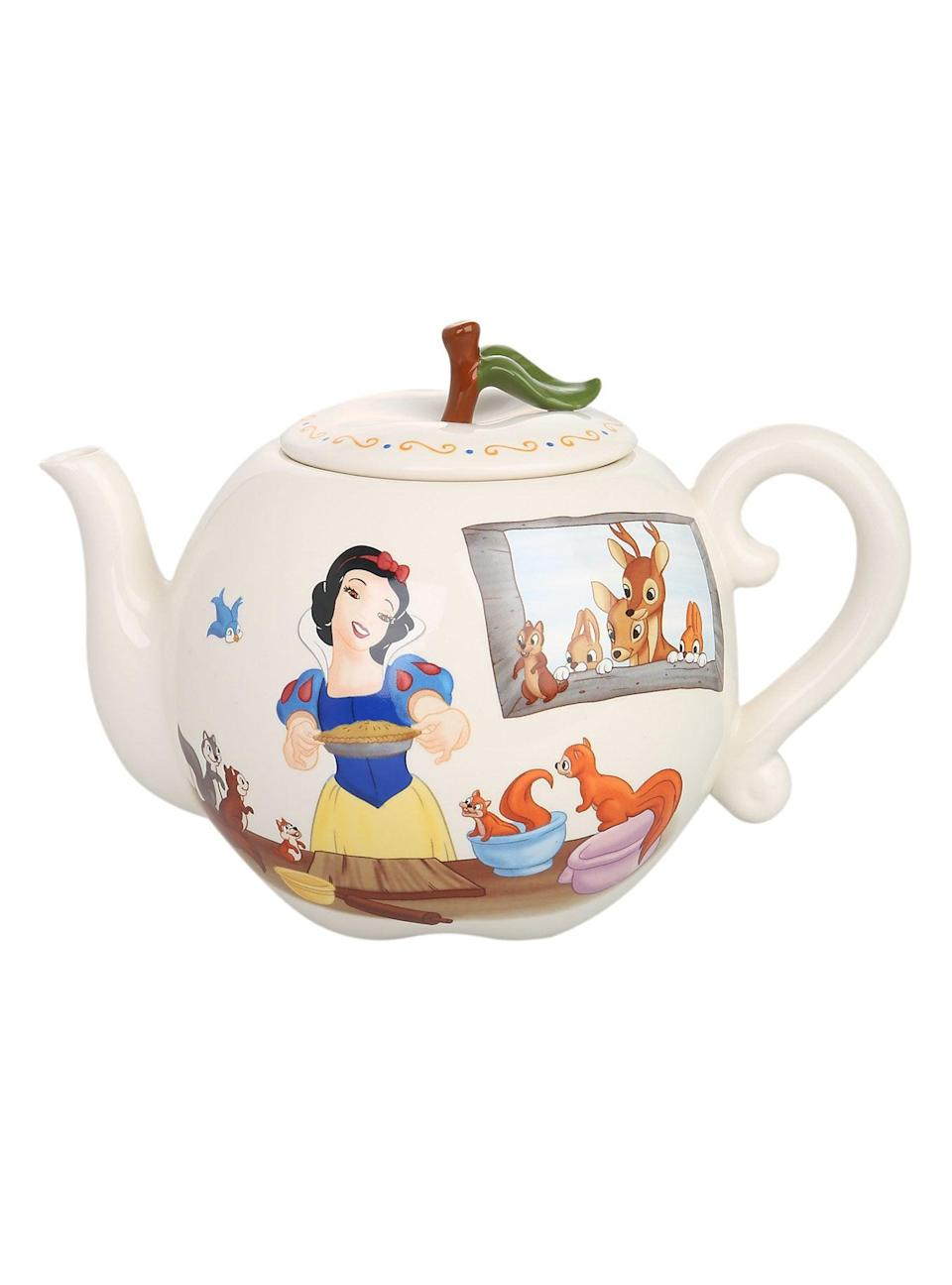 <p>The <span>Disney Snow White Apple Teapot</span> ($36, originally $60) will look magical rested on top of their stove. </p>