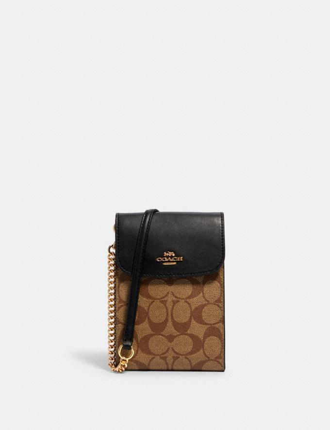 Rachel Phone Crossbody In Signature Canvas is on sale at Coach Outlet for Black Friday, $68 (originally $228).
