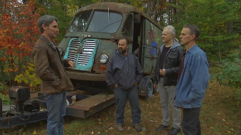 Aerosmith S First Tour Van From 1964 Found Abandoned In
