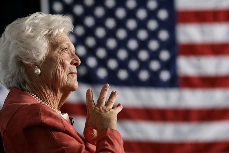 Trump to skip Barbara Bush's funeral