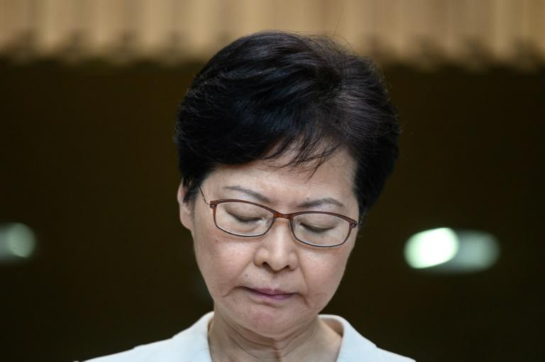 Embattled Hong Kong leader set for town hall meeting