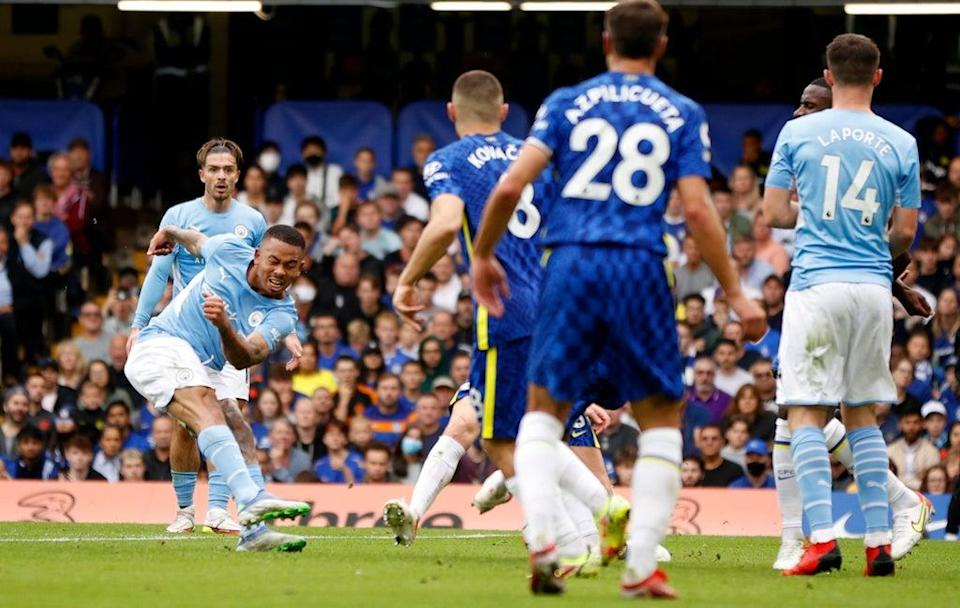 Gabriel Jesus scored the only goal of the game (Action Images via Reuters)
