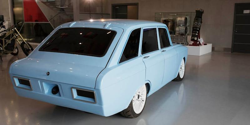 Kalashnikov electric car