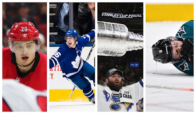 From Gloria to RFA negotiations, 2019 was a wild ride. (NHL/Getty Images)