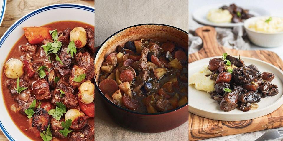 """<p>Casserole is the ultimate comfort dish. Whether it's a <a href=""""https://www.delish.com/uk/cooking/recipes/a30621596/sausage-casserole-slow-cooker/"""" rel=""""nofollow noopener"""" target=""""_blank"""" data-ylk=""""slk:classic sausage casserole"""" class=""""link rapid-noclick-resp"""">classic sausage casserole</a>, <a href=""""https://www.delish.com/uk/cooking/recipes/a37373004/slow-cooker-chicken-casserole/"""" rel=""""nofollow noopener"""" target=""""_blank"""" data-ylk=""""slk:smoky chicken"""" class=""""link rapid-noclick-resp"""">smoky chicken</a> or delicious <a href=""""https://www.delish.com/uk/cooking/recipes/a37372465/venison-casserole/"""" rel=""""nofollow noopener"""" target=""""_blank"""" data-ylk=""""slk:venison casserole"""" class=""""link rapid-noclick-resp"""">venison casserole</a>, there's nothing like a slow-cooked, tasty dinner jam-packed with veg and sauce. Sure, it's not ready in under 30 mins, but that extra-long cooking time is well worth the wait. What's more, a good casserole is the perfect go-to dish for when you've got guests round. For 8 of our favourite casserole recipes, keep sliding... </p>"""