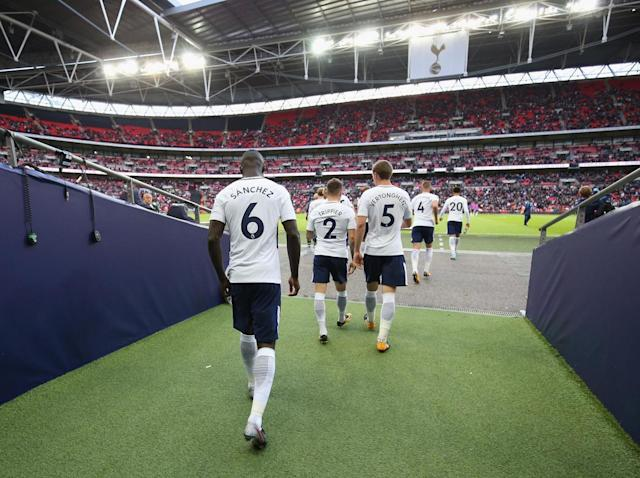Tottenham haven't enjoyed any home comfort so far (Tottenham Hotspur FC via Getty)