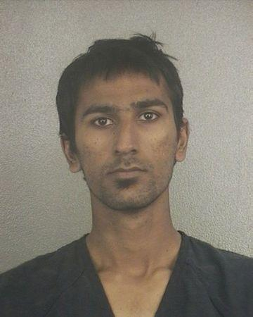 Broward Sheriff's Office booking photograph shows Raees Alam Qazi taken on November 29, 2012 and released to Reuters on December 18, 2012.  REUTERS/Broward Sheriff's Office/Handout