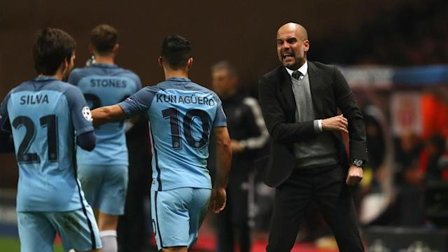 Manchester City's Champions League defeat at Monaco will not force a change of approach from Pep Guardiola against Liverpool.