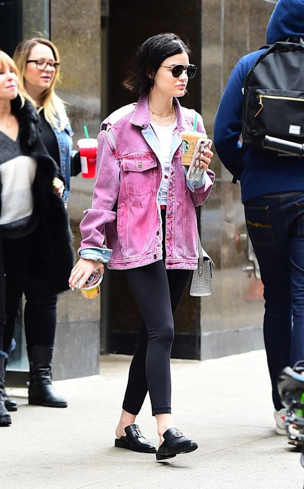 <h2>Seeing Pink</h2>                                                                                                                                                                             <p><p>In New York City, April 2017</p>                                                                                                                                                                               <h4>Getty Images</h4>