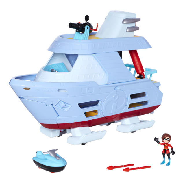 <p>Junior Supers Hydroliner Playset, Jakks Pacific, $39.99. (Photo: Courtesy of Disney Products and Interactive Media) </p>