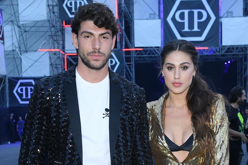 MILAN, ITALY - JUNE 15: Ignazio Moser and Cecilia Rodriguez attend the Philipp Plein fashion show during the Milan Men's Fashion Week Spring/Summer 2020 on June 15, 2019 in Milan, Italy. (Photo by Daniele Venturelli/Getty Images)