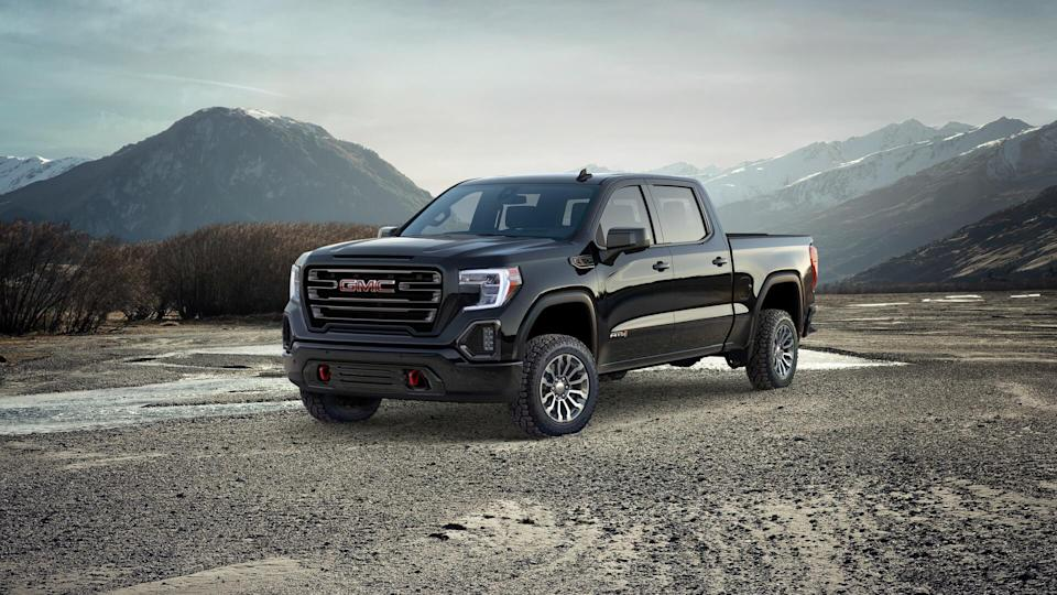 2020 GMC Sierra AT4.