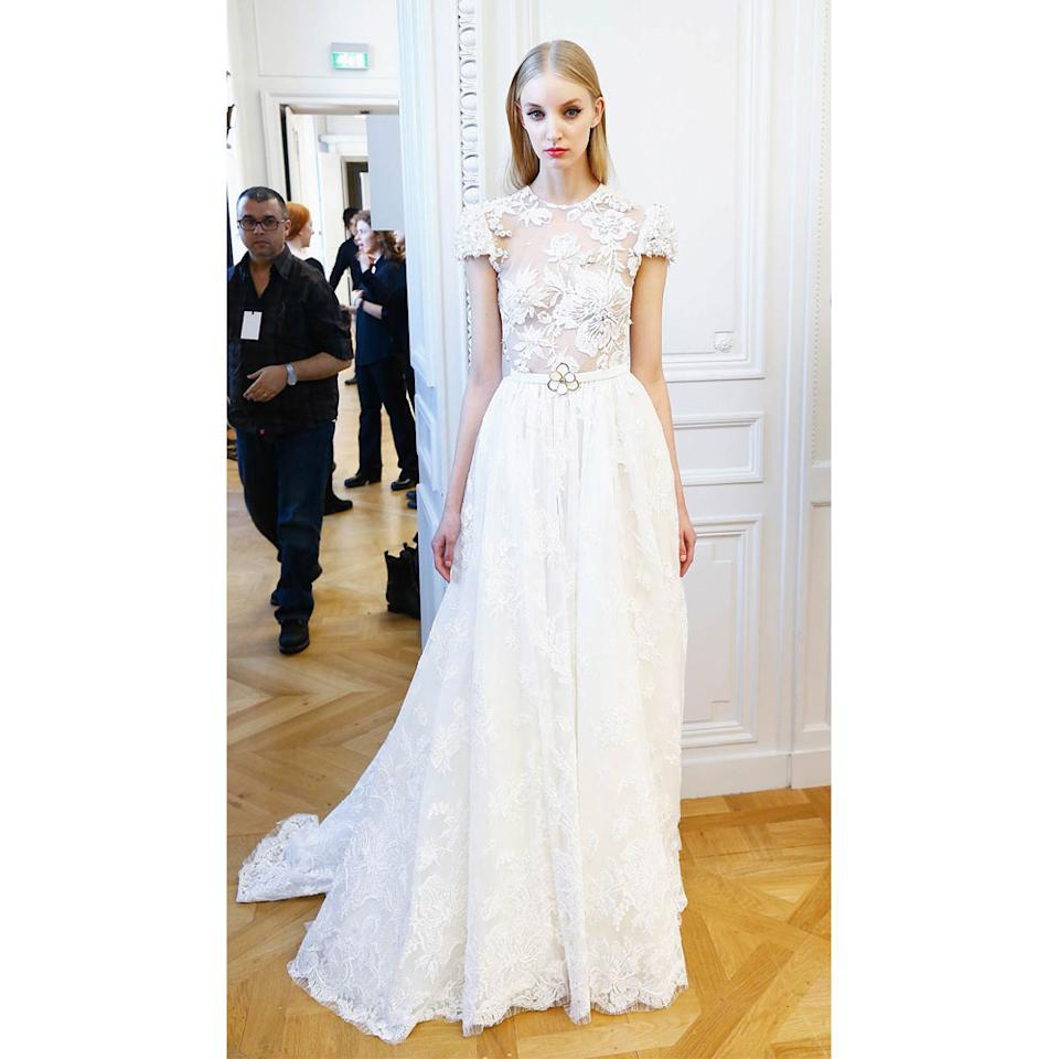 The Unexpected Bridal Gown Trend That's Going To Be Huge