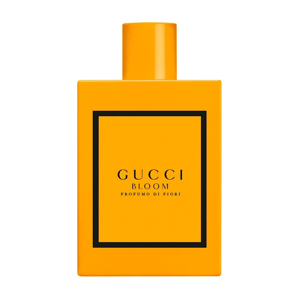 """<p>The <a href=""""https://www.allure.com/review/gucci-bloom-perfume?mbid=synd_yahoo_rss"""" rel=""""nofollow noopener"""" target=""""_blank"""" data-ylk=""""slk:Gucci Bloom"""" class=""""link rapid-noclick-resp"""">Gucci Bloom</a> fragrance family continues to… well… bloom — now with Profumo di Fiori. An especially intense floral, it features two forms of jasmine sambac, along with tuberose and ylang ylang, so if you love white florals and know how they thrive in a fall scent, prepare to adore Profumo di Fiori.</p> <p><strong>$100 for 1.6 ounces</strong> (<a href=""""https://shop-links.co/1716225875153864290"""" rel=""""nofollow noopener"""" target=""""_blank"""" data-ylk=""""slk:Shop Now"""" class=""""link rapid-noclick-resp"""">Shop Now</a>)</p>"""