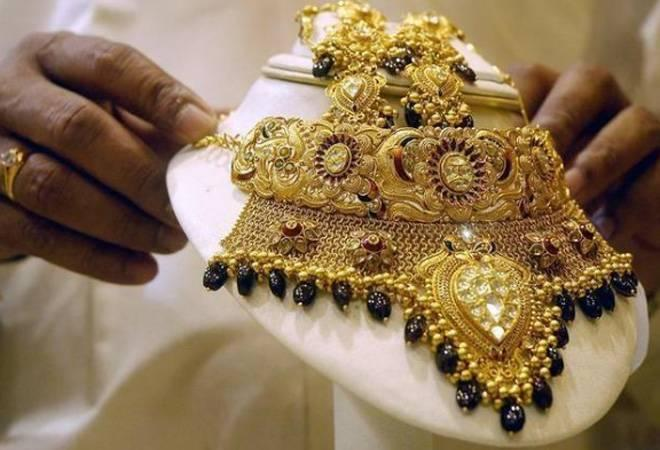 The jump in Indian market was recorded after gold prices rose to a  two-week high in global markets rebounding from a seven-month low  touched in the previous session.