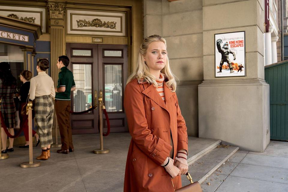 <p>If Skovby looks familiar, it's because she recently played Polly on <em>Riverdale</em>. She also had roles in <em>Once Upon a Time </em>and <em>Summer of 84</em>. </p>