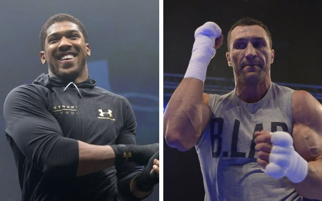 Joshua vs Klitschko live stream and TV channel details