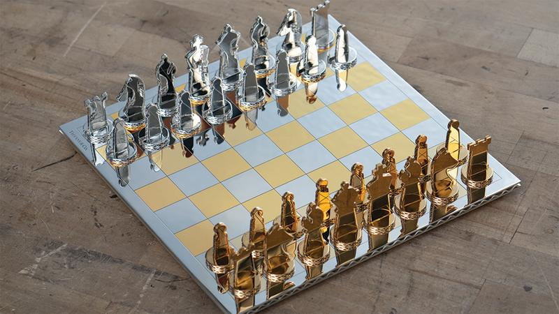 This 75 000 Tiffany Co Chess Set Breaks All The Rules