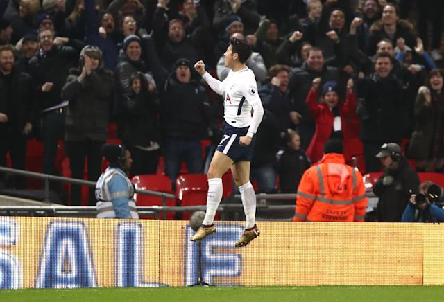 in-form Son set Tottenham on their way
