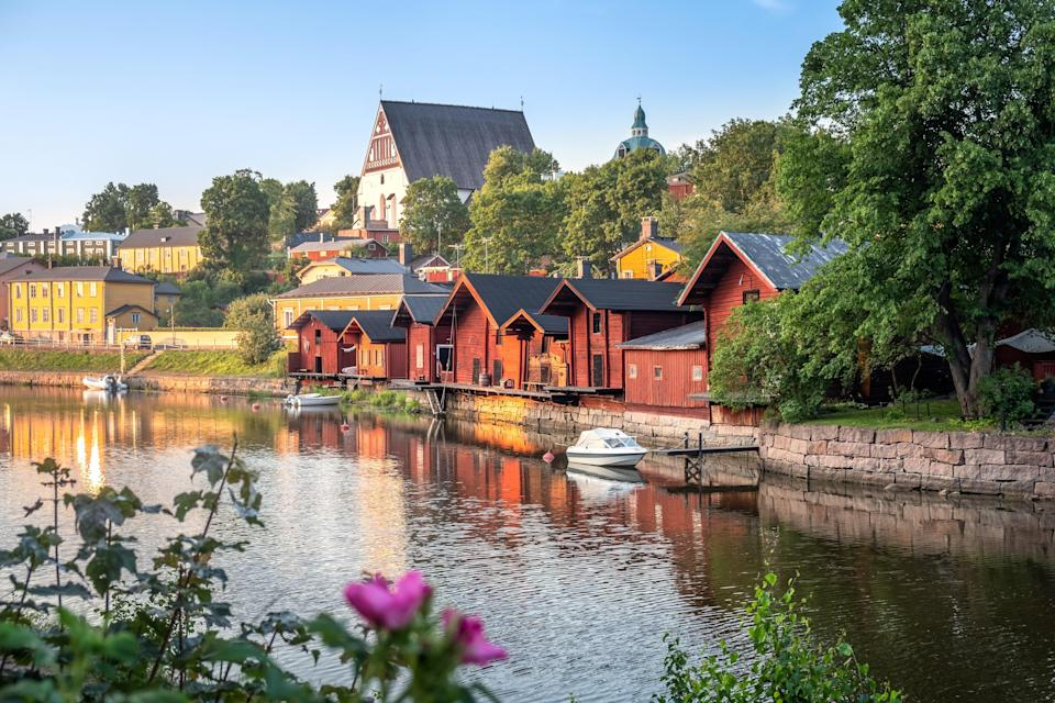 """For the fourth year in a row, Finland is number one when it comes to happiness. The country consistently ranks <a href=""""https://data.oecd.org/"""" rel=""""nofollow noopener"""" target=""""_blank"""" data-ylk=""""slk:among the top education systems in the world"""" class=""""link rapid-noclick-resp"""">among the top education systems in the world</a>, occasionally beaten out by countries like <a href=""""https://www.cntraveler.com/gallery/the-most-beautiful-places-in-south-korea?mbid=synd_yahoo_rss"""" rel=""""nofollow noopener"""" target=""""_blank"""" data-ylk=""""slk:South Korea,"""" class=""""link rapid-noclick-resp"""">South Korea,</a> <a href=""""https://www.cntraveler.com/gallery/most-beautiful-places-in-japan?mbid=synd_yahoo_rss"""" rel=""""nofollow noopener"""" target=""""_blank"""" data-ylk=""""slk:Japan"""" class=""""link rapid-noclick-resp"""">Japan</a>, and <a href=""""https://www.cntraveler.com/destinations/singapore?mbid=synd_yahoo_rss"""" rel=""""nofollow noopener"""" target=""""_blank"""" data-ylk=""""slk:Singapore"""" class=""""link rapid-noclick-resp"""">Singapore</a>. Much of that success comes from a widespread reverence for teachers, who are required to have a master's degree (their education is state-funded), and a pedagogical system that focuses less on quantitative testing and more on experiential learning and equal opportunity."""