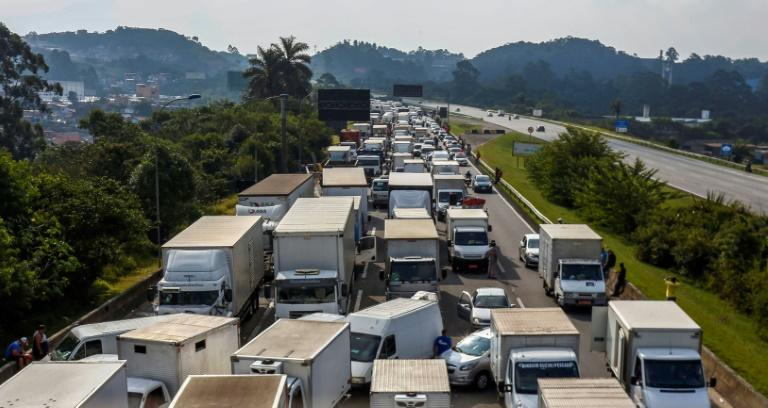 Brazil Reaches a Pact in Truck Strike, but Big Union Rejects It
