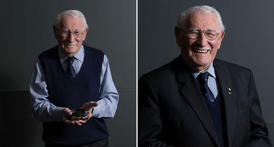 Eddie Jaku shared his experience of surviving the Holocaust with thousands of people. Source: Katherine Griffiths
