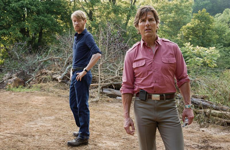 'The Force Awakens' star Domhnall Gleeson plays Barry's CIA handler in 'American Made' (Universal)