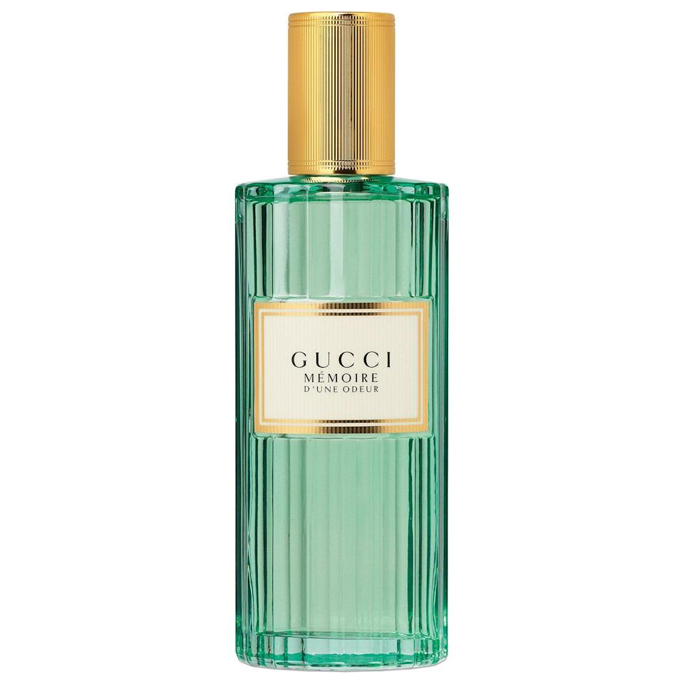 """<p><strong>Gucci</strong></p><p>sephora.com</p><p><strong>$120.00</strong></p><p><a href=""""https://go.redirectingat.com?id=74968X1596630&url=https%3A%2F%2Fwww.sephora.com%2Fproduct%2Fmemoire-eau-de-parfum-for-her-P448480&sref=https%3A%2F%2Fwww.marieclaire.com%2Fbeauty%2Fg32959650%2Fbest-fall-perfumes%2F"""" rel=""""nofollow noopener"""" target=""""_blank"""" data-ylk=""""slk:SHOP IT"""" class=""""link rapid-noclick-resp"""">SHOP IT</a></p><p>Elegant and green, a spritz of Gucci's chamomile and jasmine blend smells like a walk through an enchanted forest as the leaves begin to turn. </p>"""