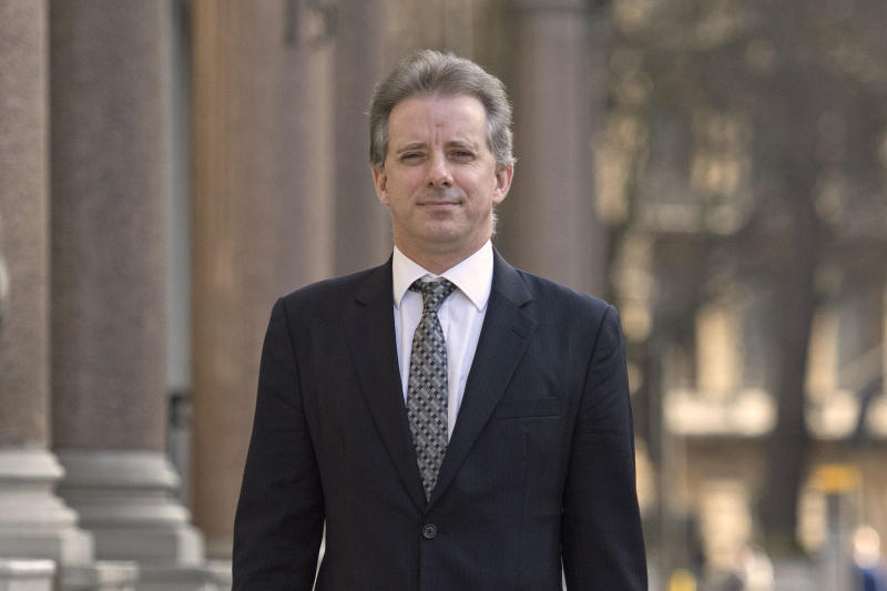 Christopher Steele in 2017. (Photo: Victoria Jones/PA via AP)