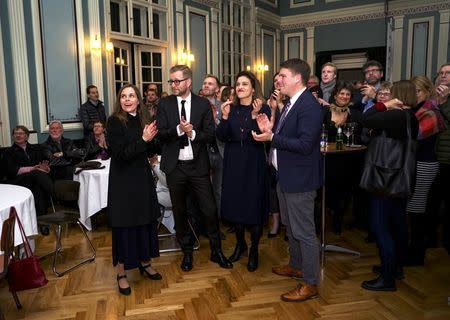Iceland's ruling Independence Party remains the biggest despite setback