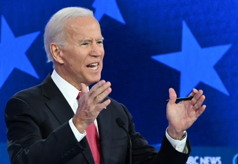 Democratic presidential hopeful Joe Biden says his family will be barred from doing any business abroad if he is elected