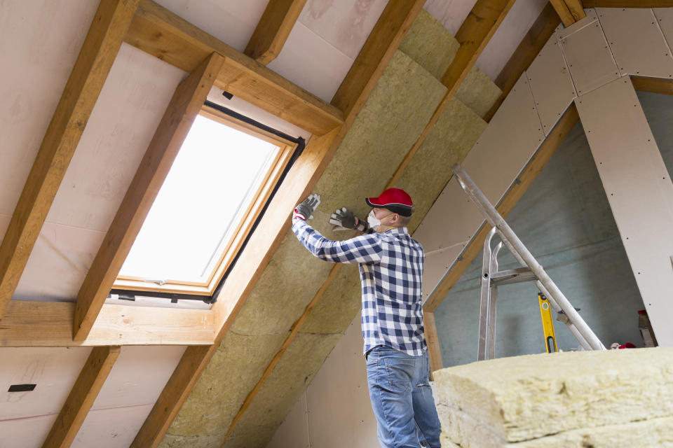 One of the tax provisions that now apply to the 2018 tax year is credit for energy-efficient improvements you added to your home, such as insulation. (Photo: Getty Images)
