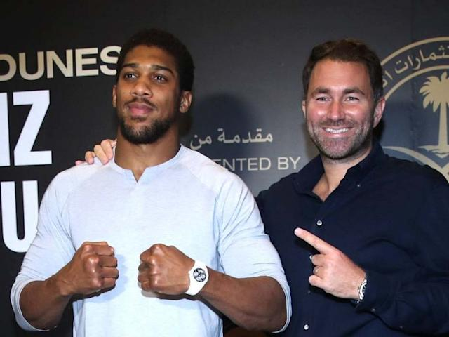Hearn insists camp has been excellent for Joshua: PA