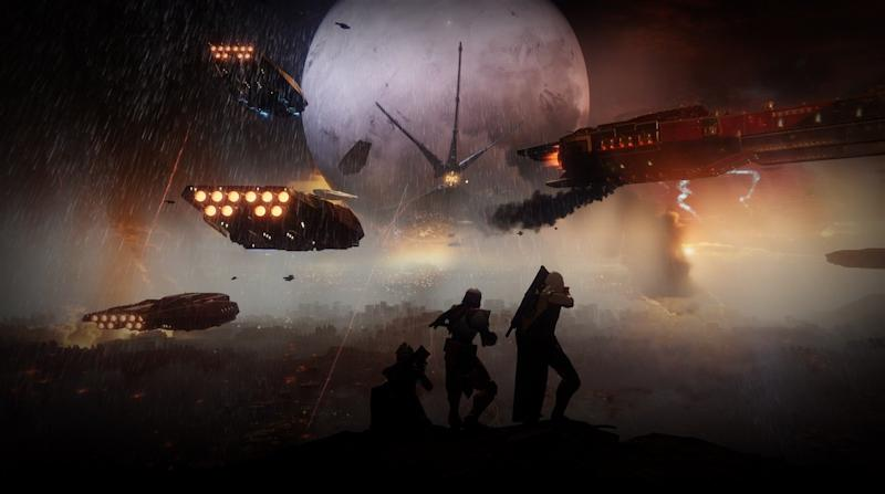 The Tower is under siege in Destiny 2 (Activision)