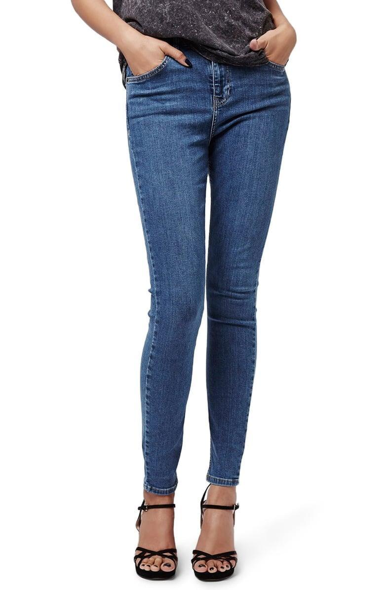 <p>These <span>Topshop Jamie High Waist Skinny Jeans</span> ($75) are a beloved classic.</p>