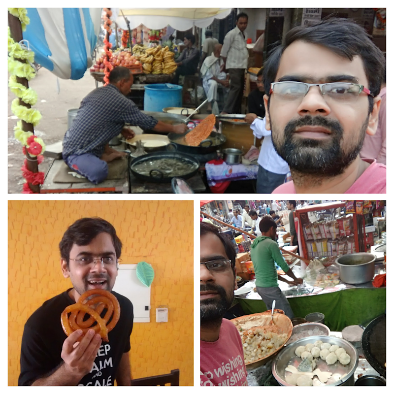 Prashant claims to be a foodie - here's a glimpse