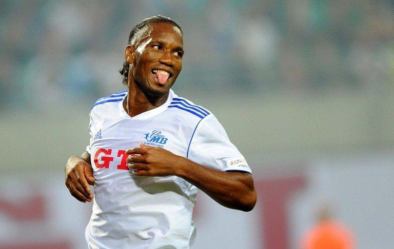 Didier Drogba pictured during a farewell match for former football player Michael Ballack in Germany on June 5, 2013. Chinese media reported last year that Drogba had asked FIFA to nullify his contract with Shenhua after the club reportedly defaulted on payments following a shareholder dispute