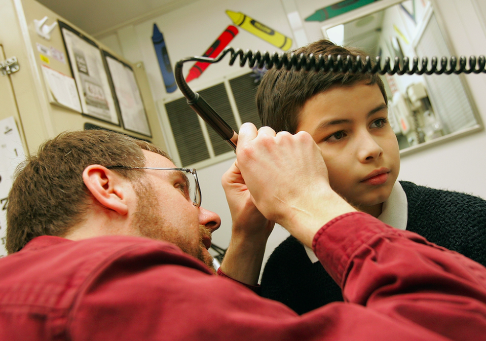 <em>Youngsters were responsible for 95% of objects removed from noses and 85% of objects removed from ears (Getty/file photo)</em>