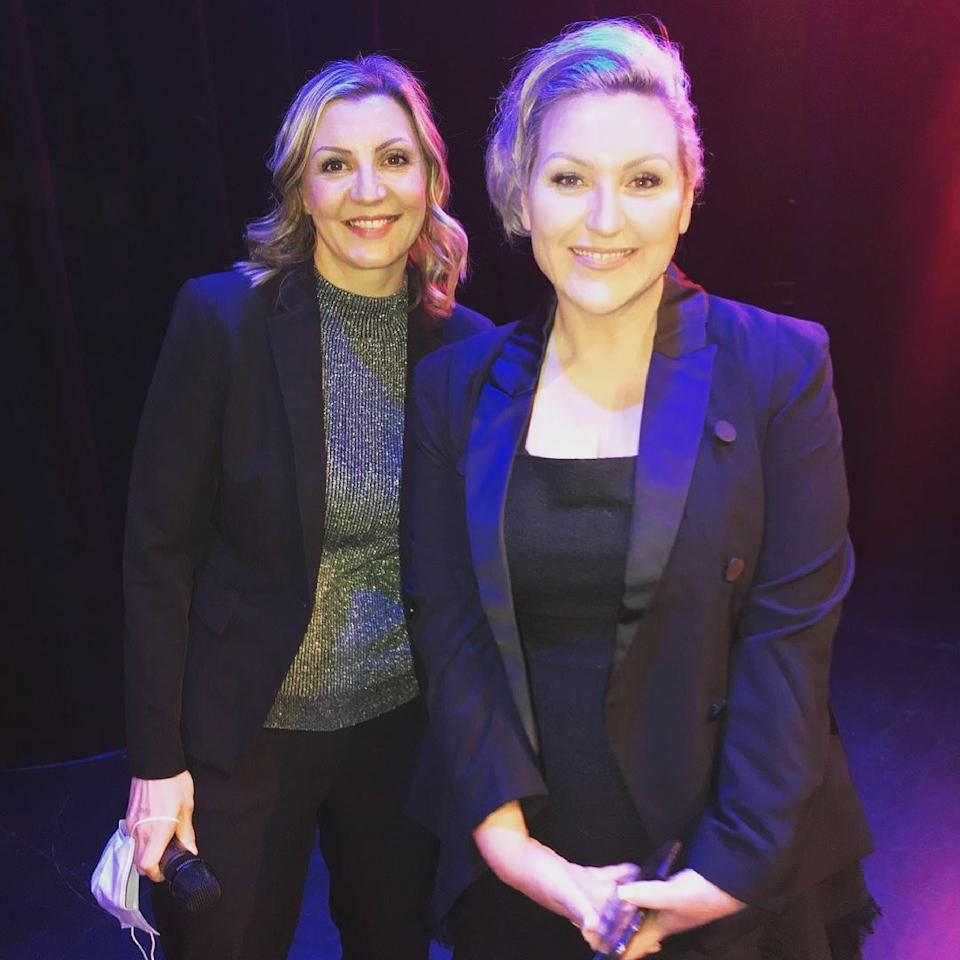 Meshel Laurie shocked fans after recently sharing a photo of herself with some fans unable to recognise the comedian and host. Photo: Instagram/Meshel Laurie
