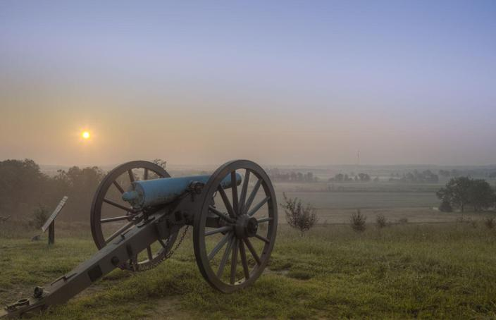 """<p>In just three short days, the Battle of Gettysburg in July of 1863 proved to be one of the most fatal battles in all of American history. It makes sense that the <a href=""""https://www.housebeautiful.com/design-inspiration/real-estate/news/a6548/fixer-upper-home-for-sale/"""" rel=""""nofollow noopener"""" target=""""_blank"""" data-ylk=""""slk:Pennsylvania"""" class=""""link rapid-noclick-resp"""">Pennsylvania</a> battlefield, home to 50,000 violent Civil War deaths, is a """"restless"""" place. Countless reports have been made about paranormal activity over the sprawling field, but most commonly cited are <a href=""""http://content.time.com/time/specials/packages/article/0,28804,1855221_1855285_1855277,00.html"""" rel=""""nofollow noopener"""" target=""""_blank"""" data-ylk=""""slk:roaming soldiers looking for their rifles"""" class=""""link rapid-noclick-resp"""">roaming soldiers looking for their rifles</a>—completely unaware that the battle is a century-and-a-half in the past.</p>"""