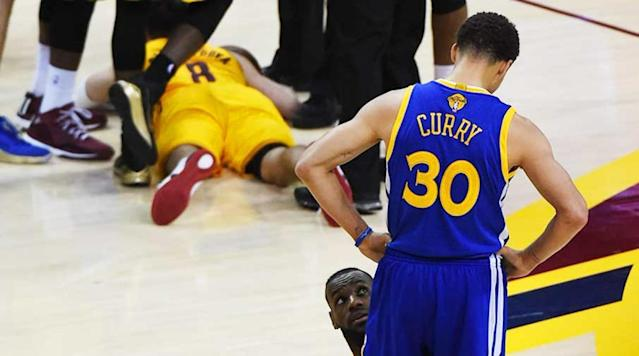 <p>With Steph Curry and LeBron James meeting in the NBA Finals again, we combed through our photo databases for the best shots of the dynamic duo together. </p>