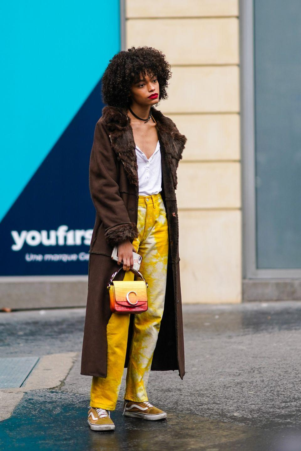 <p>Tie-dye had a huge moment this past year, and though the summer has cooled, we're not ready to completely say goodbye to the print just yet. So we'll be finding subtle ways to flaunt this style with a few additions to our handbag collections.</p>