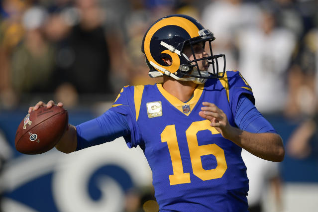 The Los Angeles Rams continued their stretch of goodwill Friday morning. (AP Photo/Mark J. Terrill)